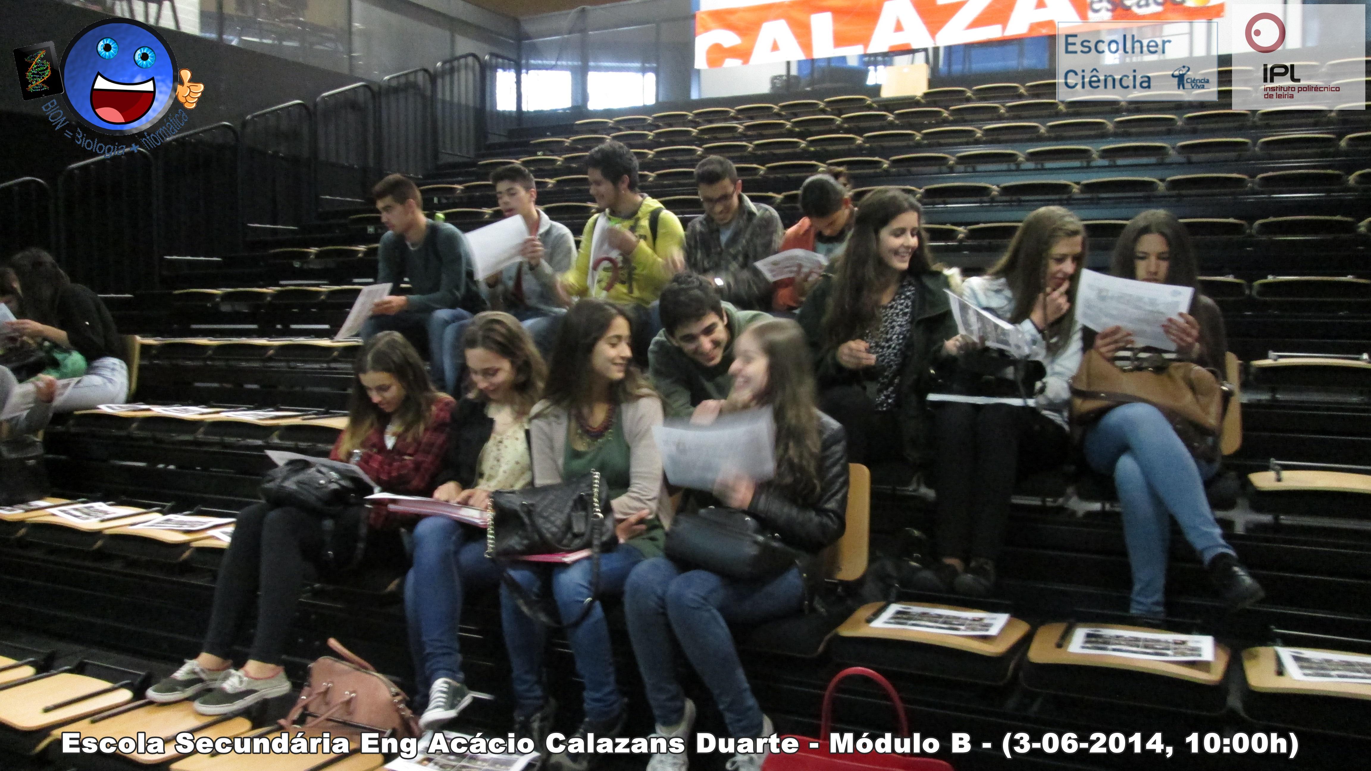 Modulo B - Escola Sec. Eng. Acácio Calazans Duarte