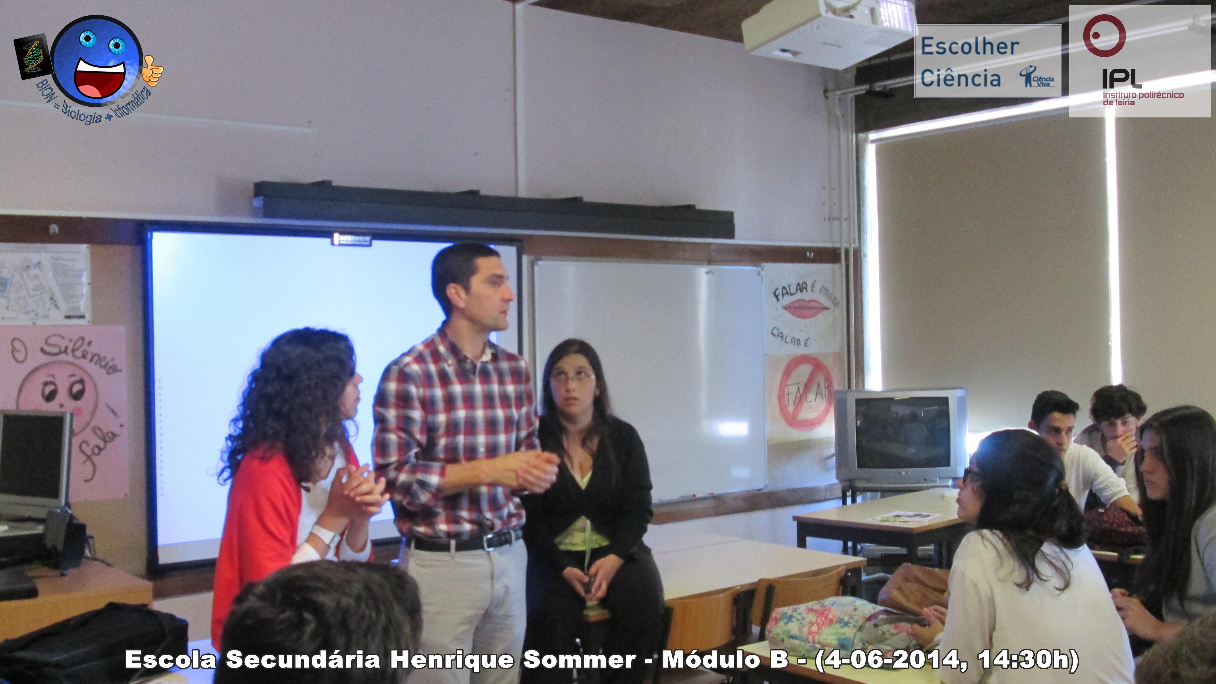 Modulo B - Escola Secundária Henrique Sommer